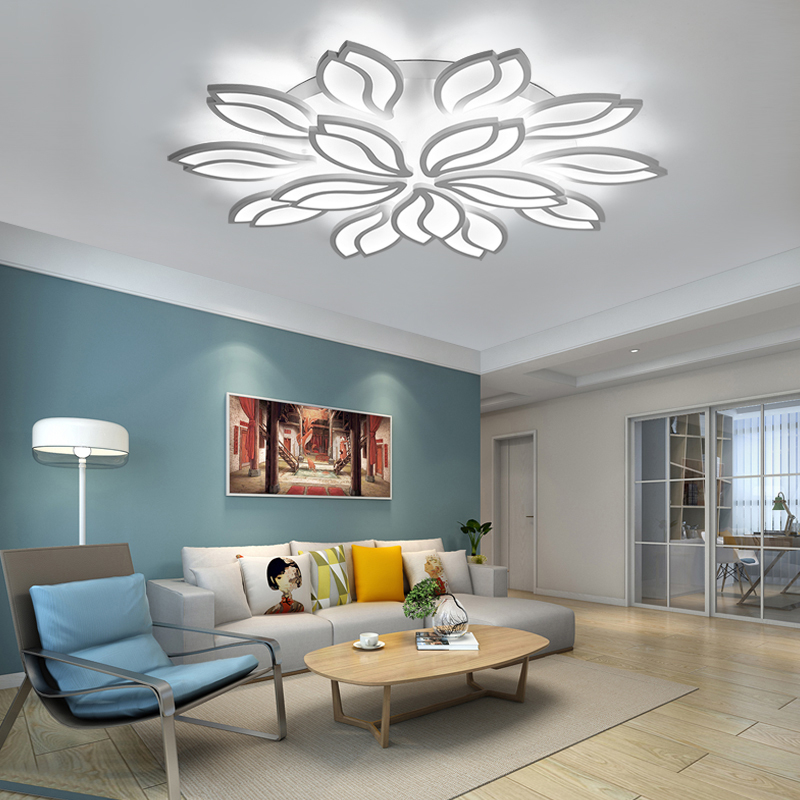 New LED Ceiling Lamp Simple Modern led Ceiling Light For Living Room Bedroom Acrylic Ceiling Lights Indoor Lighting fixtures new led ceiling lamp simple modern led ceiling light for living room bedroom acrylic ceiling lights indoor lighting fixtures