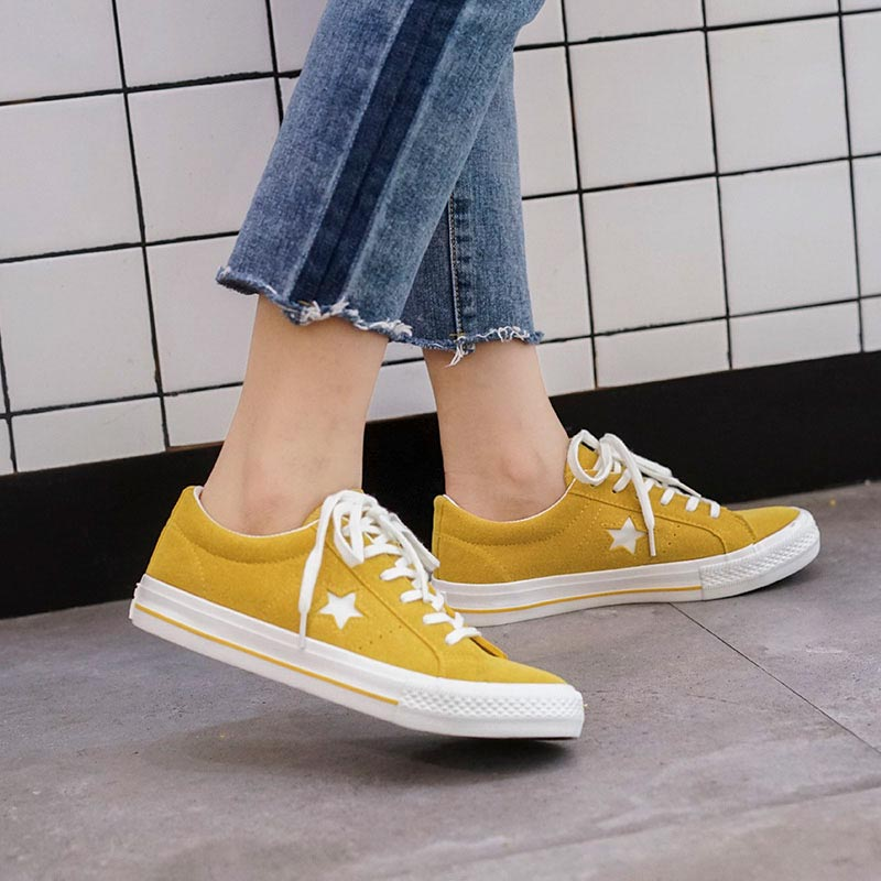 NICE spring summer flat white Canvas Shoes For Women
