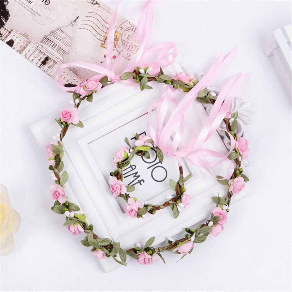 Best Buy Bride Flowers Headband Wedding Handmade Flower Wreath
