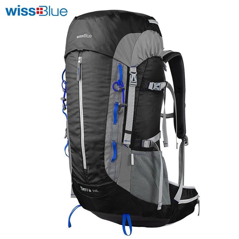 WissBlue 50L су өткізбейтін нейлон Unisex - Спорттық сөмкелер - фото 3