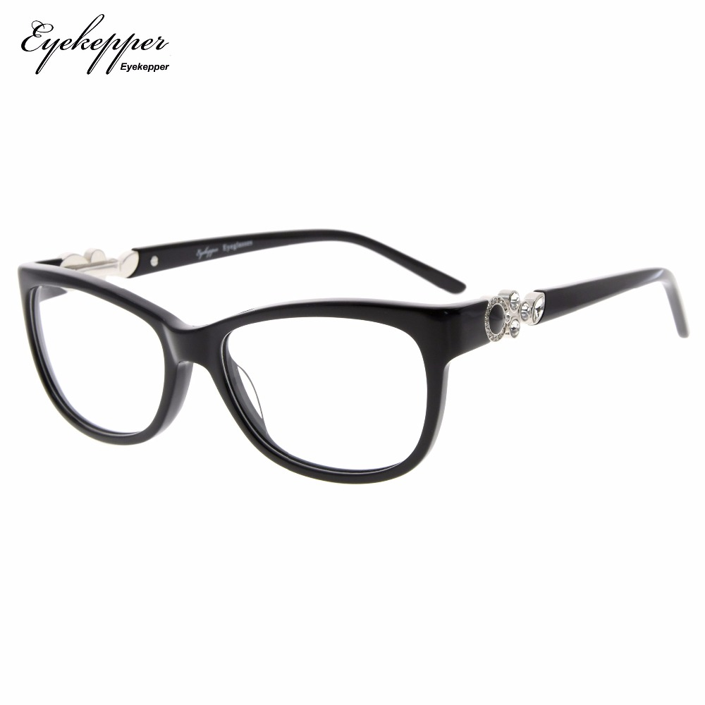 6d3803c8761c FA0063 Eyekepper Acetate Frame Womens Eyeglasses Cat eye Glasses Frame Rx  able-in Reading Glasses from Apparel Accessories on Aliexpress.com |  Alibaba Group