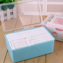 120 Pc /Box 3 Layers Thick Cosmetic Facial Cotton Pads 100% Cotton Makeup Remove