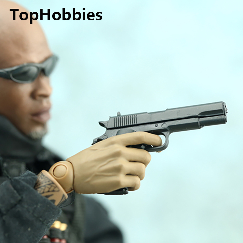 Soldier Weapon annex Model 1/6 4D Assembling Mounting Desert Eagle Pistol 92 Pistol Toy Gun F 12 Action Figure Collection GIFt фигурка planet of the apes action figure classic gorilla soldier 2 pack 18 см