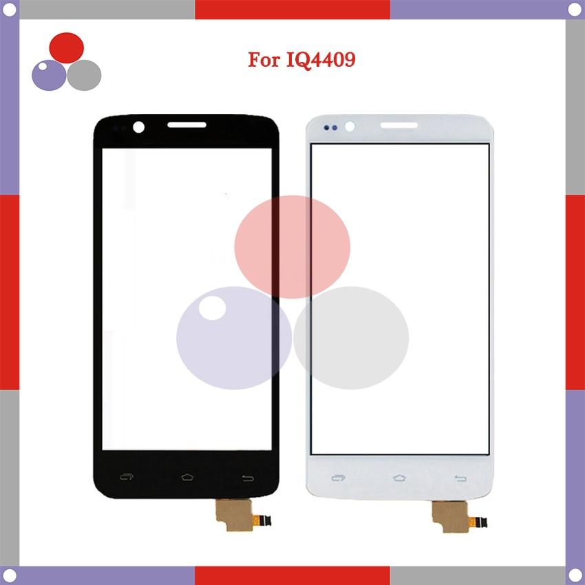 4.5 For FLY IQ4409 Quad ERA Life 4 IQ 4409 Touch Screen Panel Sensor Digitizer Outer Glass Lens