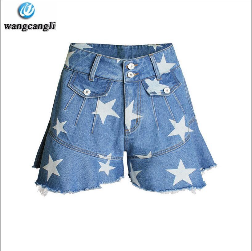 Aliexpress.com : Buy Denim Shorts Women fish tail pants jeans thin ...