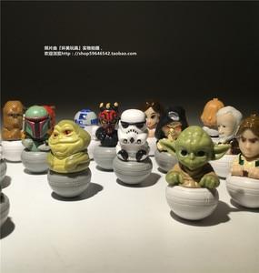 Image 2 - 15 штук, смешанный 3,5 см, Звездные войны, ПВХ, фигурка, игрушки, Очаровательная Коллекционная модель