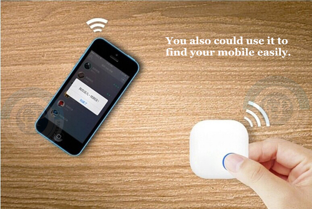 Bluetooth 4.0 anti lost alarm device rang 50meters i tag phone alert find easy iOS Android