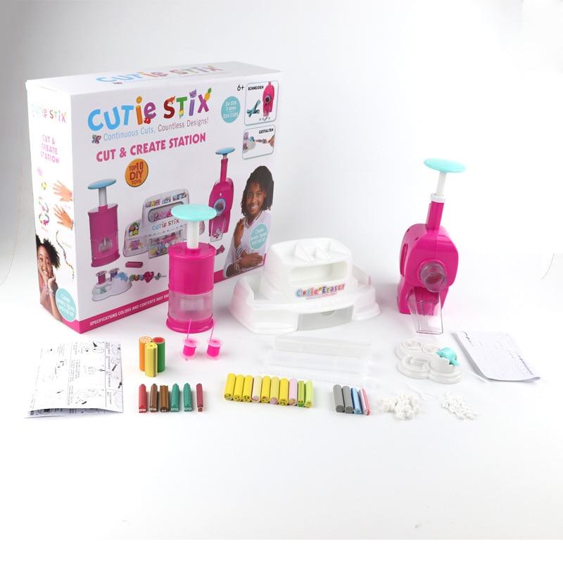 Nouveau innovant magique hacher couverts en caoutchouc Bracelet Cutter jouet enfants bricolage à la main Set jouets pour enfants