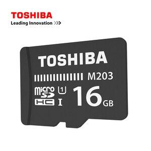 Image 2 - Cartão de memória toshiba m203, original, UHS I 16gb 32gb microsdhc 64gb 128gb microsdxc cartão de classe u1 fullhd tf