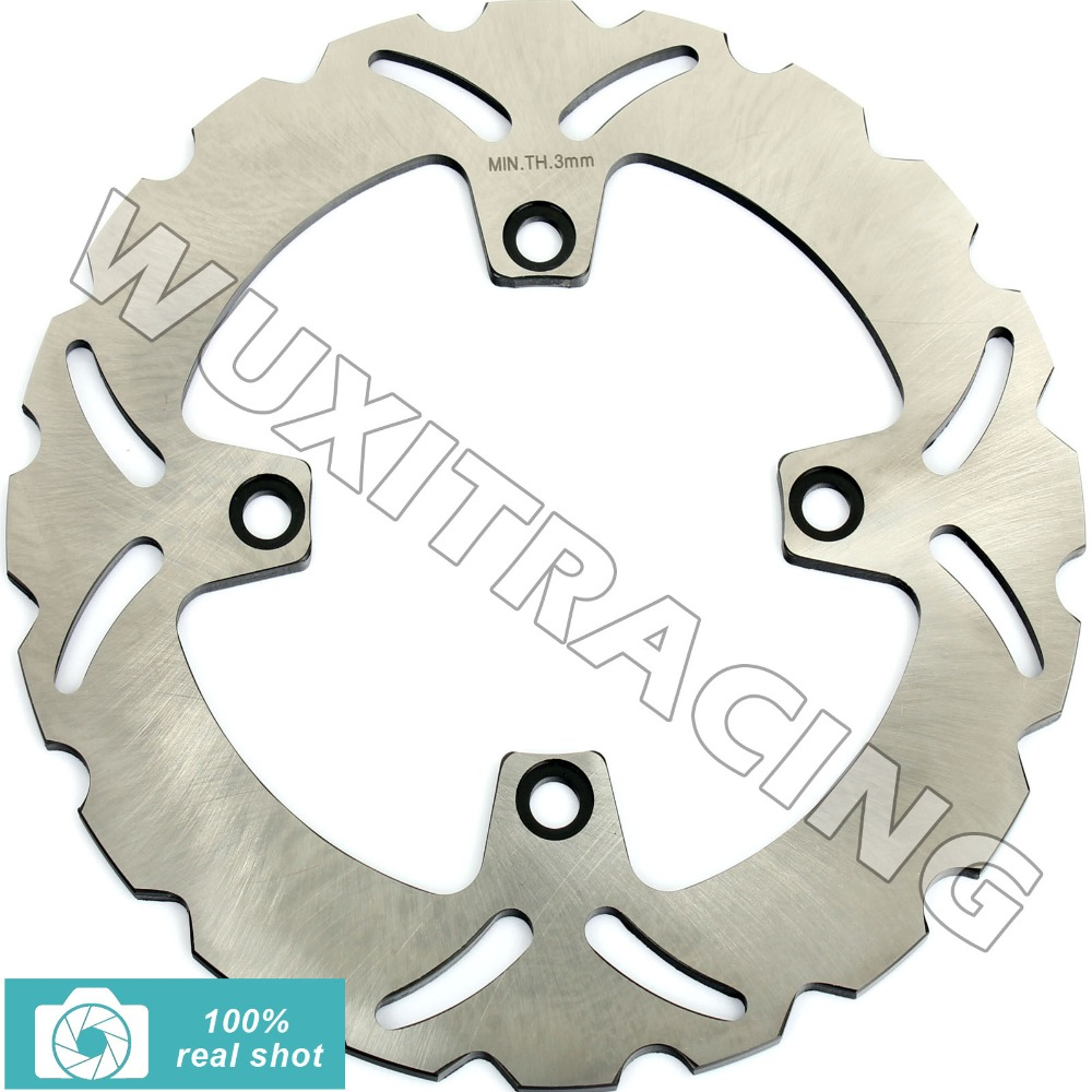 Rear Brake Disc Rotor for CB 250 500 / S 97-03 98 99 00 01 02 XLV TRANSALP 600 650 700 91-11 XRV AFRICA TWIN 650 08 09 10 11 rear brake disc rotor for suzuki dr 650 se 96 12 k1 k2 k3 k4 k5 k6 k7 k8 k9 xf 650 freewind 97 98 99 00 01 02 03