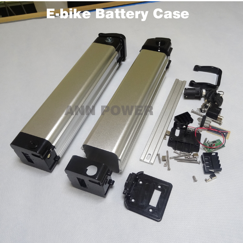 Free Shipping Electric bicycle 24V battery box E-bike lithium battery case For DIY li-ion battery pack Not include the battery atlas bike down tube type oem frame case battery 24v 13 2ah li ion with bms and 2a charger ebike electric bicycle battery
