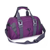 High Capacity Women Sport Bag Nylon Water Proof Travel Shoulder Sack Fitness Yoga Bag Clothes Duffel