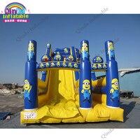 Durable 0.55 mm PVC Children Inflatable Slide Inflatable Jumping Slide Bouncer Inflatable Slide
