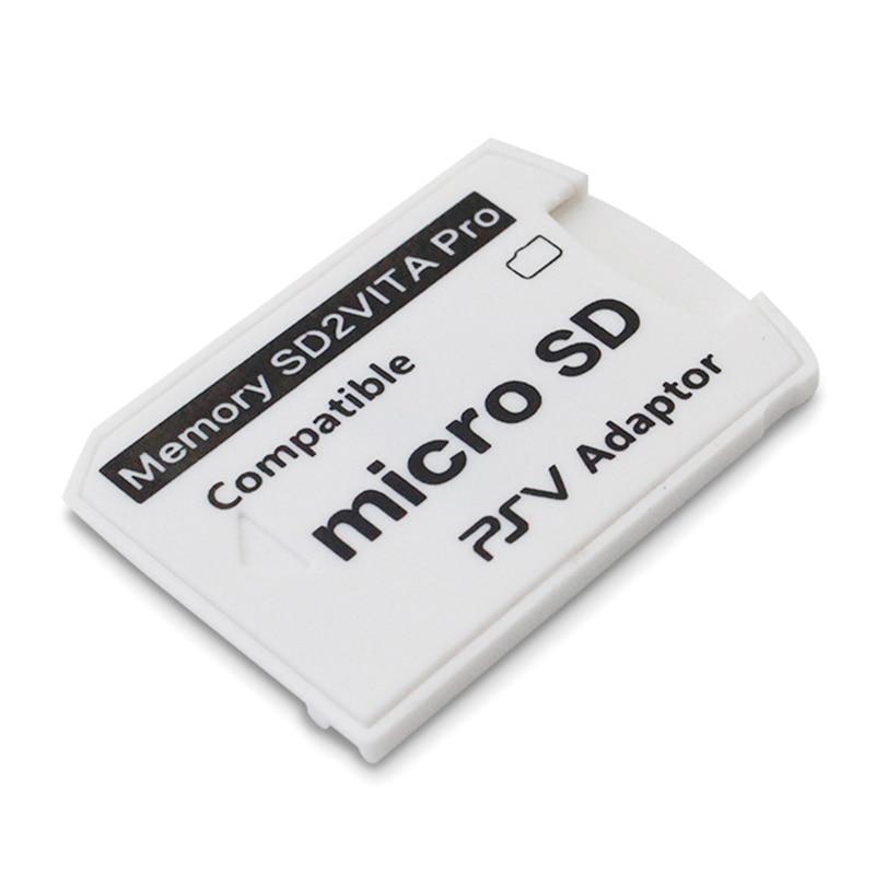 Version 6.0 SD2VITA For PS Vita Memory TF Card For PSVita Game Card PSV 1000/2000 Adapter 3.65 System SD Micro-SD Card R15