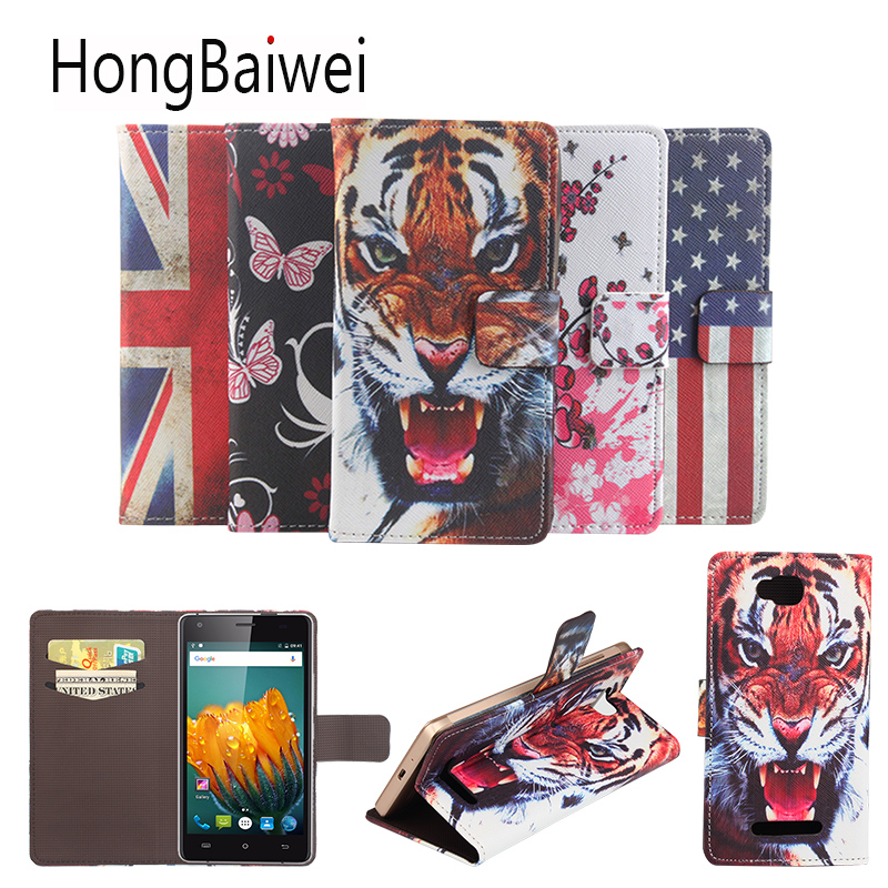 Phone Cover For Cubot Echo Case Cover 3D Tiger Pattern For Cobot X6 12 16 17 Bobby Manito Wallet type mobile phone leather case