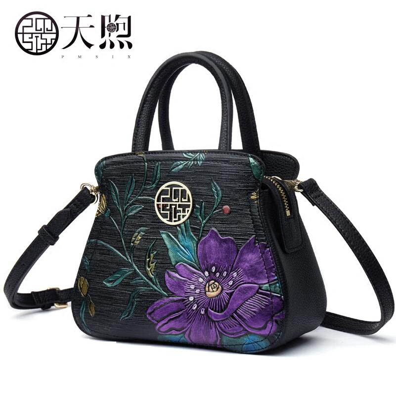 New fashion Embossed luxury handbags women bags designer Genuine Leather women tote handbags shoulder Bags classic black leather tote handbags embossed pu leather women bags shoulder handbags elegant