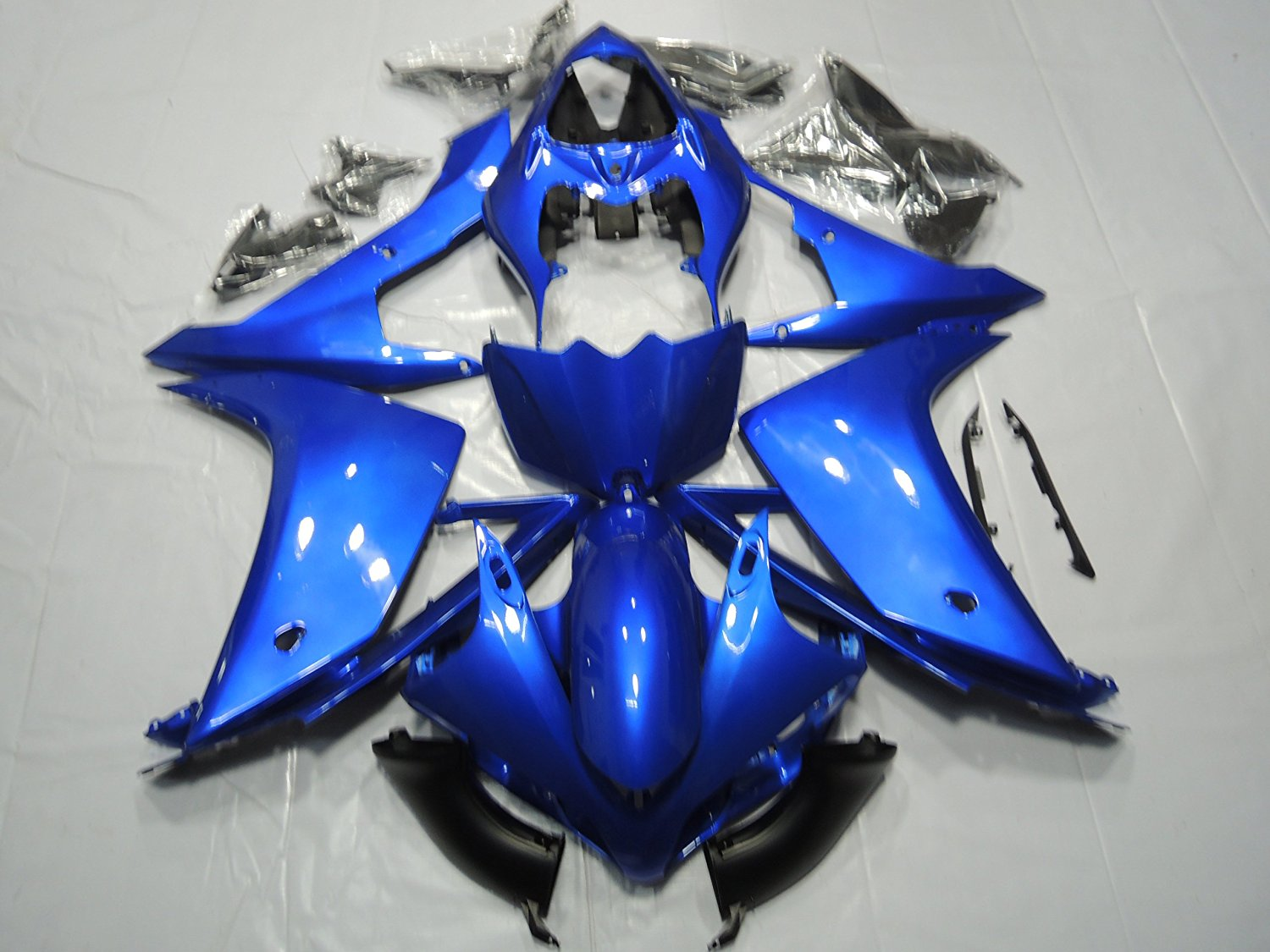 Motorcycle Bodywork Fairing Kit For Yamaha YZF R1 YZFR1 YZF-R1 2007 - 2008 07 08 Blue Injection Mold Fairings Cowl UV Painted for yamaha yzf 1000 r1 2007 2008 yzf1000r inject abs plastic motorcycle fairing kit yzfr1 07 08 yzf1000r1 yzf 1000r cb02
