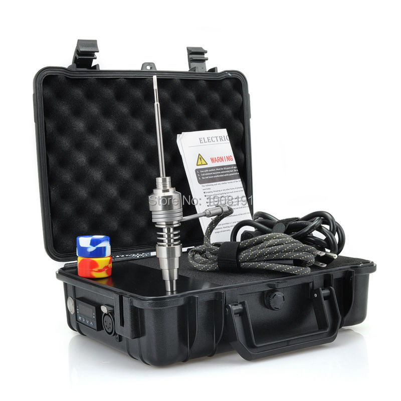 Electric Nail Titanium Nail Kit For Water Pipes Coil