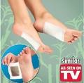 KINOKI Cleanse corpo emagrecimento série Cleansing Detox Foot Pads como desinfetar anti-fadiga pé patch beleza corporal COMO VISTO NA TV
