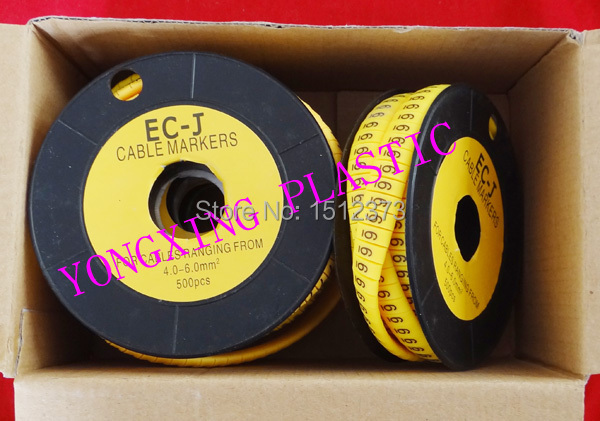 16roll/lot cirlce Cable marker EC-3 6 square meter yellow color X Y Z S each 4 roll 16roll lot cirlce cable marker ec 3 6 square meter yellow color x y z s each 4 roll