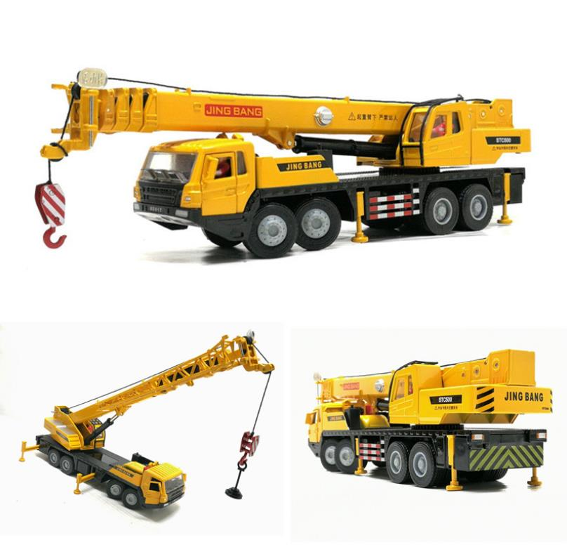 High Simulation 1:50 Alloy Engineering Crane,crane Children's Toys,collection Gifts,free Shipping
