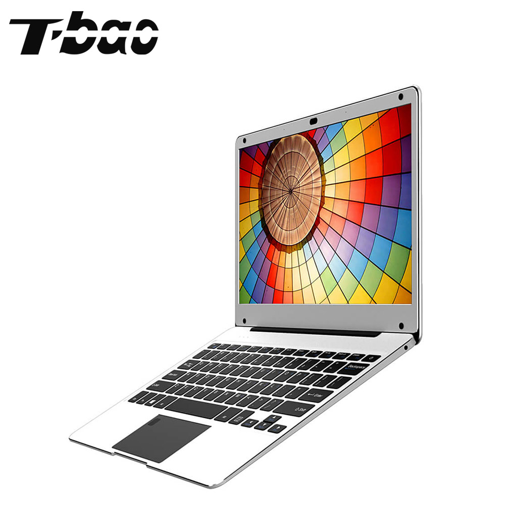 T-bao Tbook Air Laptops 1080P FHD Screen 12.5 inch 4GB DDR4 RAM 128GB SSD Intel Apollo Lake N3450 Computer Laptops Notebook