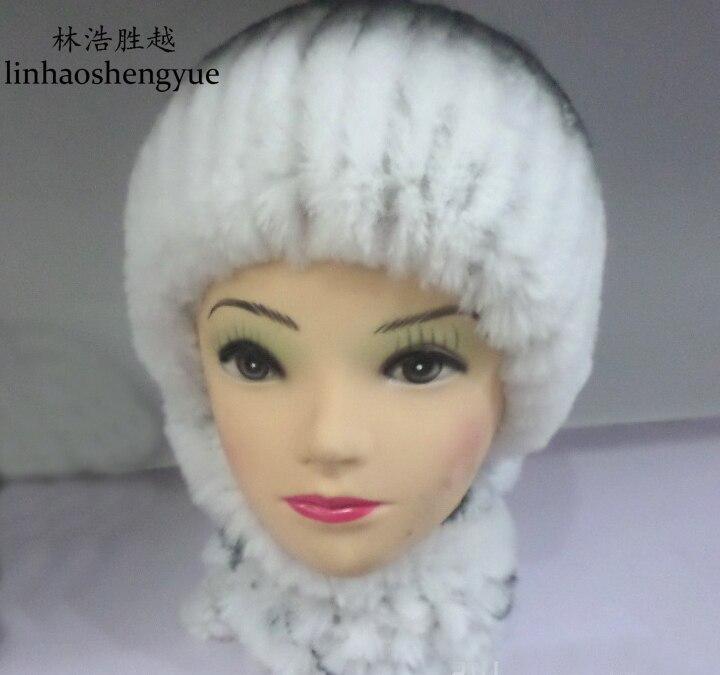 ФОТО Linhaoshengyue 2015  new   senior rabbit fur hats