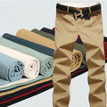 Summer  Mens casual pants Fashion men's trousers Korean high-grade boy pants 9color Size 28-35