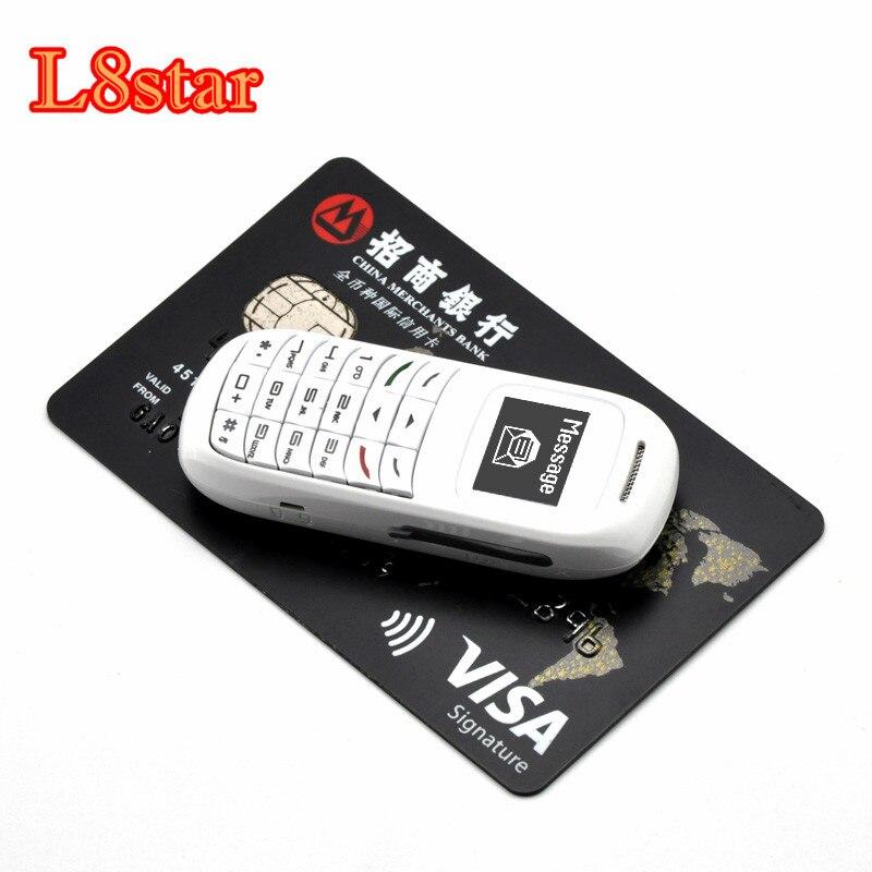 Original L8star BM70 Drahtlose Bluetooth Kopfhörer Mini Headset Unterstützung Sim-karte Dialer Tasche Smartphone Kleiner BM50