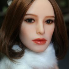 Europe face #87 oral sex doll head for big size 135cm/140cm/148cm/153cm/152cm/155cm/158cm/163cm/165cm/170cm