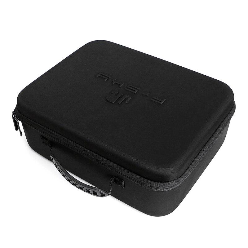 Frsky, transmisor, mando a distancia, EVA, bolso de mano, funda rígida para Frsky Taranis X9D PLUS Transmisor FrSky ACCST Taranis Q X7 QX7 de 2,4 GHz, 16 canales, color blanco/negro