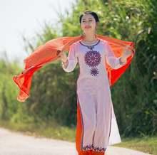 Весенне летние индийские сари Женские Модные Этнические стили