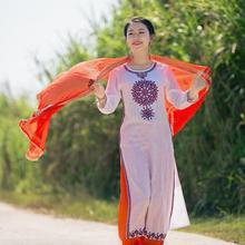 Spring Summer India Sarees Woman Fashion Ethnic Styles Dupattas Beautiful Comfortable Shawl
