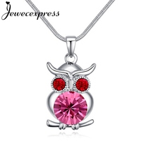 Guardian Angel Crystal Pendant Necklace