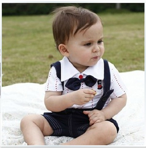 Fashion baby clothes baby clothes summer 0 1 year old 1 2 years old boys  clothing child bib pants set-in Clothing Sets from Mother & Kids on  Aliexpress.com ...
