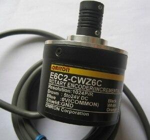 Image 1 - OMR E6C2 CWZ6C 360 P/R Codificador Rotativo Novo 5 24 V DC Saída de Coletor Aberto NPN 50mm diâmetro 360 Resolução E6C2CWZ6C