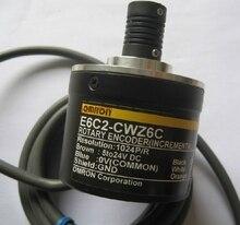 OMR E6C2 CWZ6C 360 P/R Rotary Encoder ใหม่ 5 24 V DC เปิด Collector เอาต์พุต NPN 50 มม. เส้นผ่านศูนย์กลาง 360 ความละเอียด E6C2CWZ6C