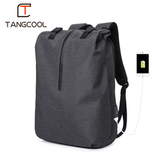 "Tangcool ماركة الموضة كورينا تصميم الرجال الكمبيوتر حقائب السفر حقيبة المدرسة ل 15.6 ""محمول على ظهره الأولاد حقائب الأمتعة"