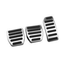 Jameo Авто из нержавеющей стали педаль газа тормоза Педали Крышка для Volvo XC60 XC70 V60 V70 S40 S60 S80 C30 LHD Запчасти Аксессуары
