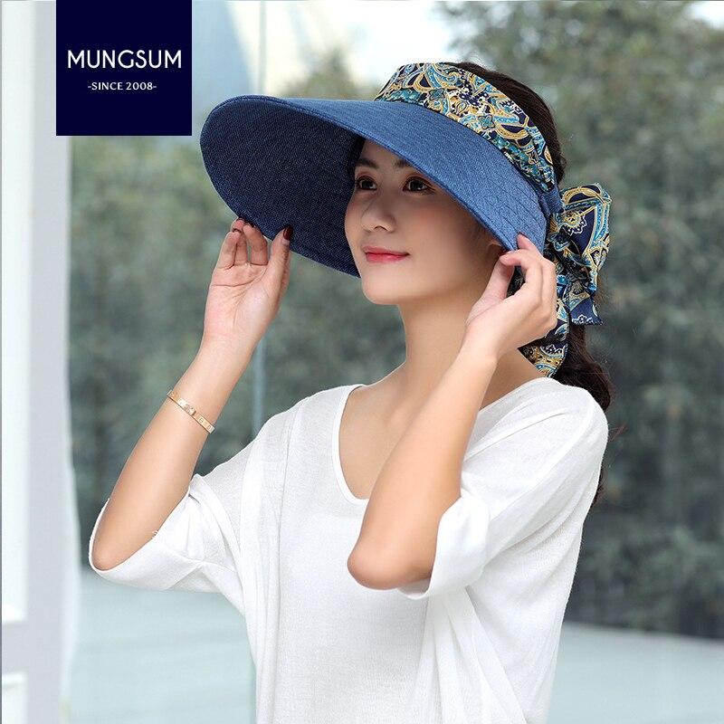 Ms. Sun Hat New Korean summer outdoor duck tongue space hat Beach Resort all-match sunshade hat