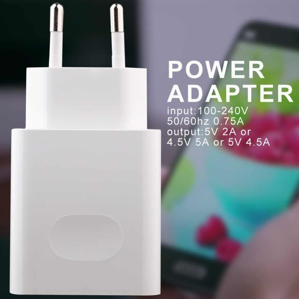 Cepat Super Cepat Charger Ponsel Charger Perjalanan Yang Super Biaya Adaptor Steker Uni Eropa untuk HUAWEI Mate 9