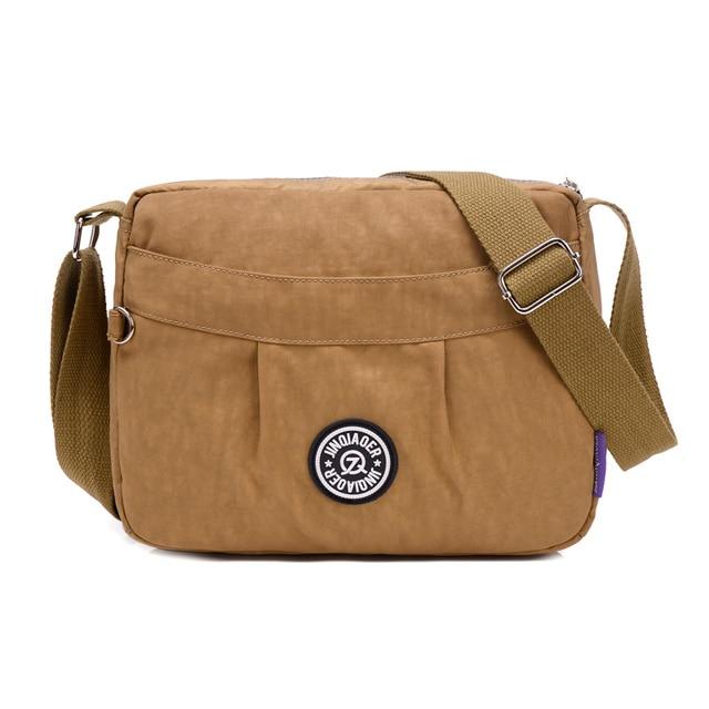 Women Nylon Lightweight Bags Casual Waterproof Crossbody Bags Shoulder Bags 287a63c62f2c0