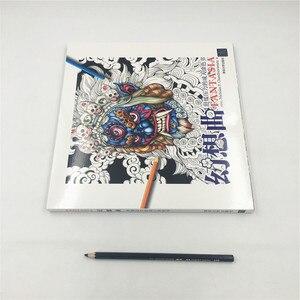 Image 5 - Fantasia libro para colorear clásico para adulto, para chico libro para colorear, pintura antiestrés, dibujo, Graffiti, libros de arte pintados a mano, libro de colorear