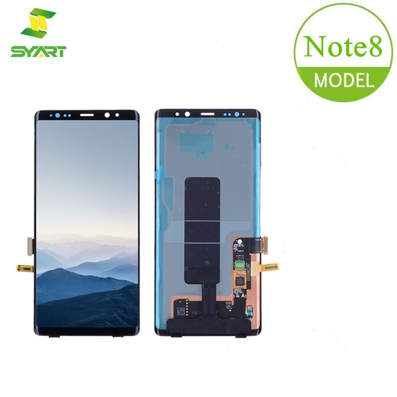 For <font><b>Samsung</b></font> Galaxy <font><b>Note</b></font> <font><b>8</b></font> AMOLED <font><b>LCD</b></font> <font><b>Display</b></font> With Touch Screen Digitizer Assembly + Free Tool For Galaxy Note8 N9500 N9500F 6.3