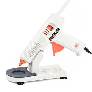Image 5 - NEWACALOX 100 240V Hot Melt Kleber Pistole mit 7mm/11mm Hot Melt Kleber Stick 20W/150W Thermische Kleber Pistole Hause Schule DIY Werkzeuge mit Basis