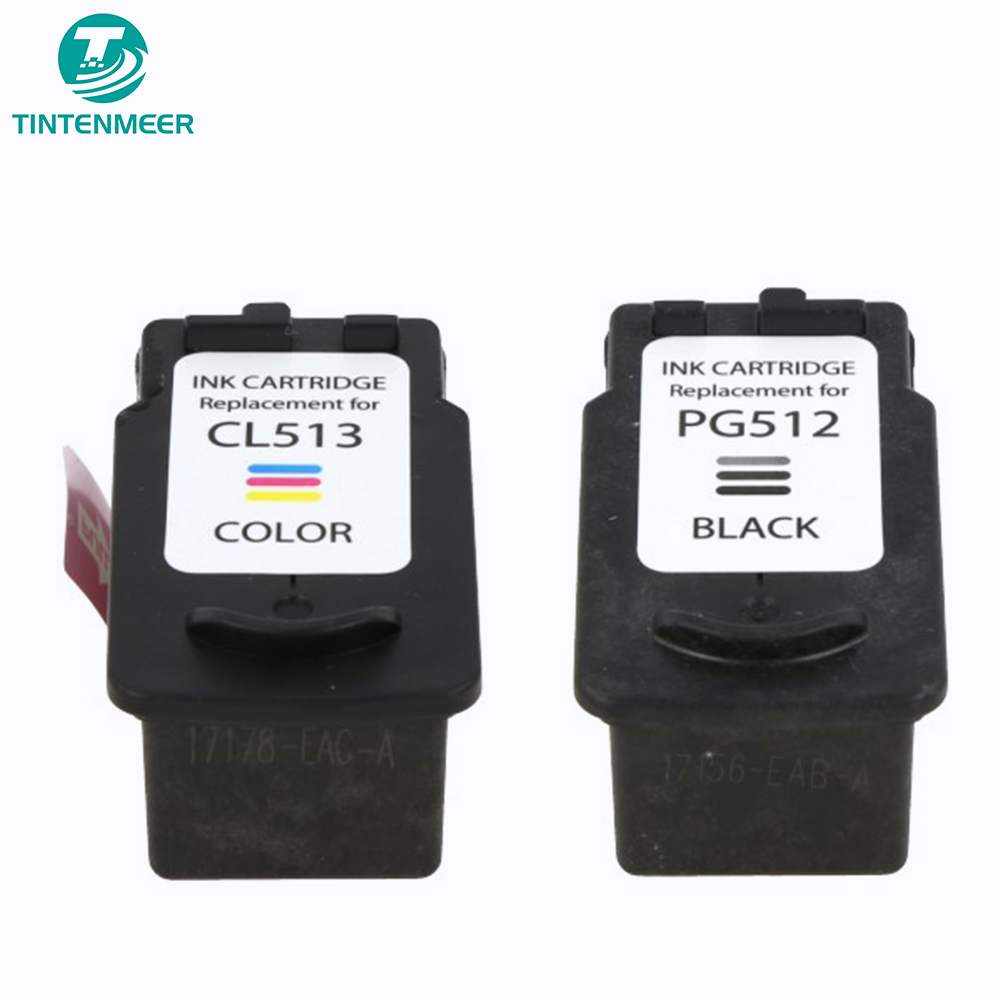 TINTENMEER cartridge pg-512 cl-513 compatible for canon MP230 MP240 MP250 MP260 MP270 MP280 MP480 MP490 MP495 MP499 PRINTER image