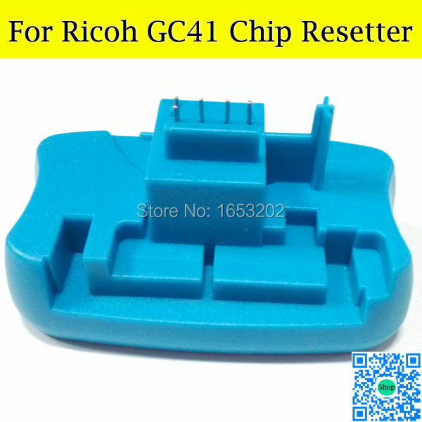 Newest Chip Resetter For Ricoh GC41 Ink Cartridge With For Ricoh SG2010L SG3110dnw SG2100 Printer rsh 41 in 1 41 in 1 toner cartridge chip resetter for sharp free shipping by dhl
