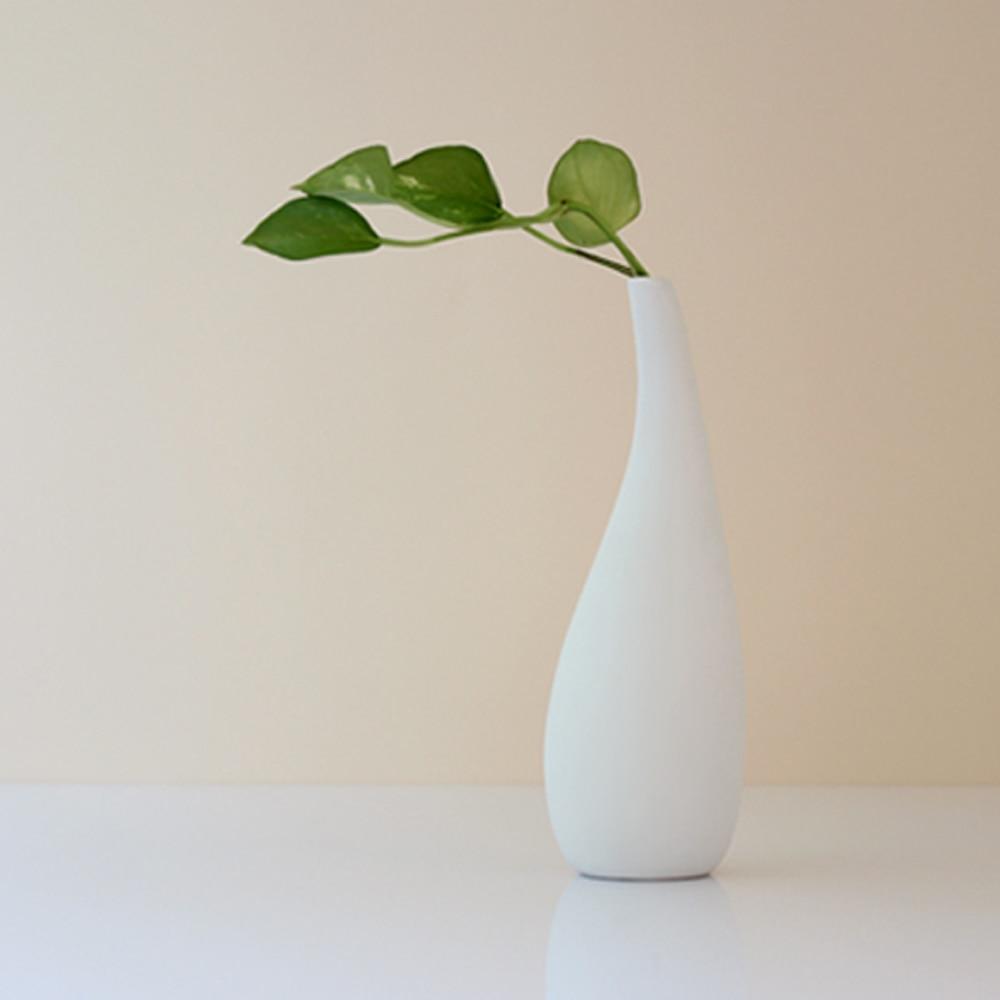 large white modern ceramic bottle vase trio by sara by sarapaloma -  white modern vases download