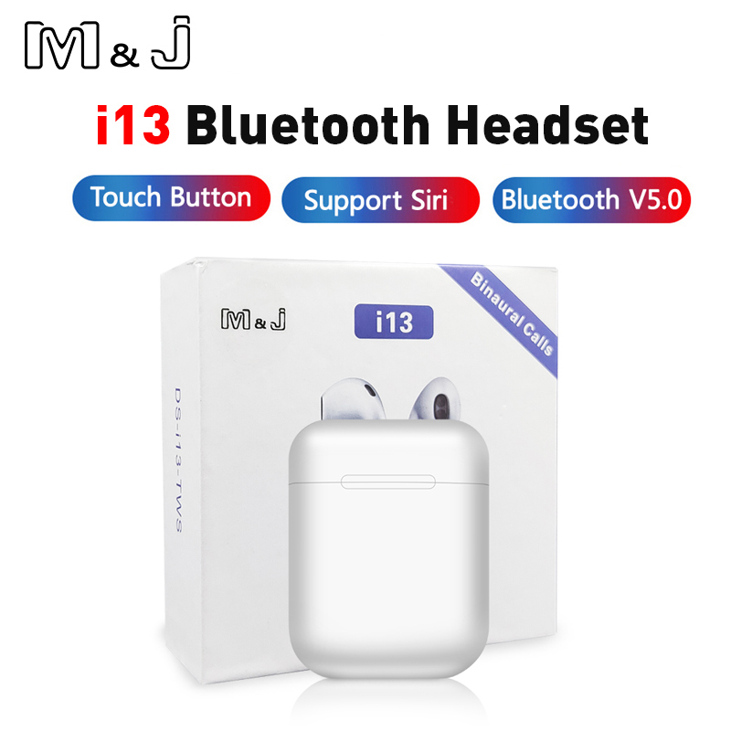 Original i13 <font><b>TWS</b></font> <font><b>Wireless</b></font> <font><b>Bluetooth</b></font> <font><b>5.0</b></font> earphones 3D Surround Sound <font><b>Earbuds</b></font> pk i30 i12 <font><b>tws</b></font> i20 <font><b>tws</b></font> i60 <font><b>i10</b></font> <font><b>tws</b></font> lk te9 te8 image