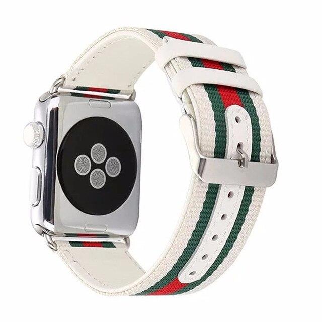 Ремешок для Apple Watch Bnad 38 мм 42 мм 40 мм 4 44 мм полосы для Apple Watch браслет серии 4 3 2 1 для iWatch кожаный ремешок